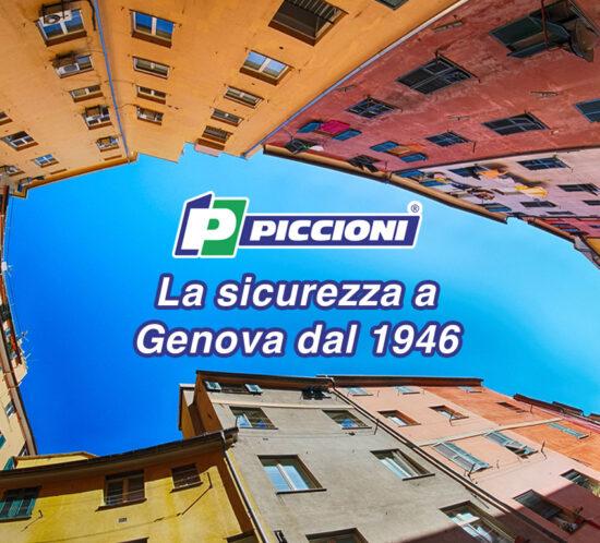 Piccioni la sicurezza a Genova dal 1946